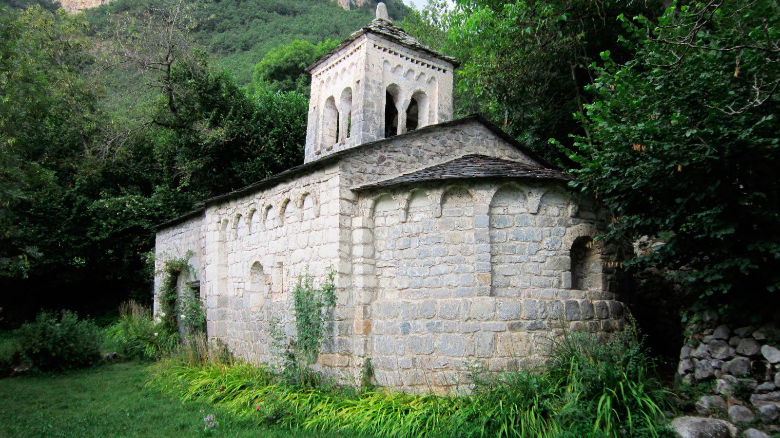 Ermita de la Virgen de Gracia - El Run (Huesca)