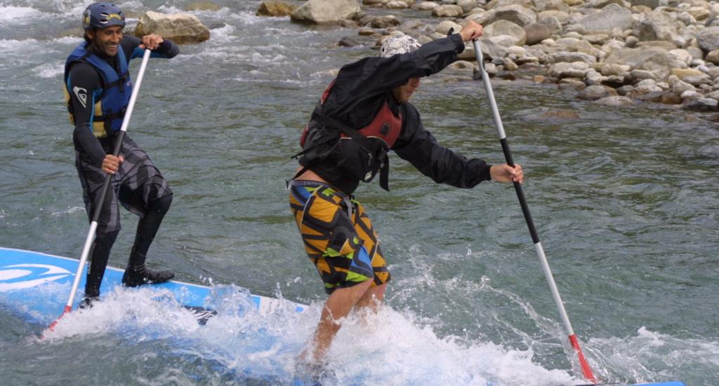 Paddle Surf - Campo (Huesca) - Pirineo Aragonés