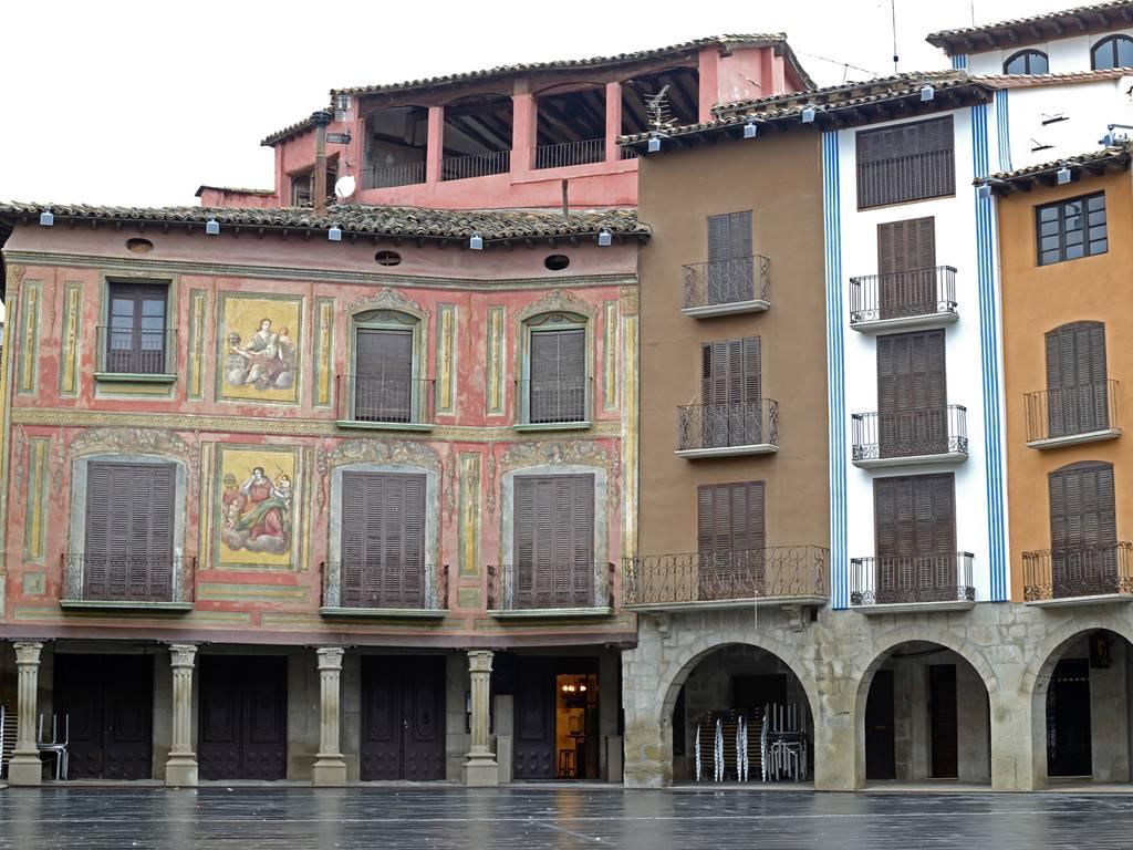 Plaza Mayor de Graus - Graus (Huesca)