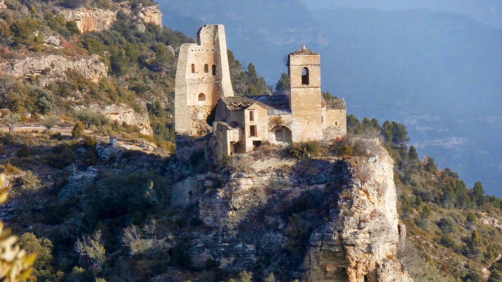 Castillo del Mon de Perarrua - Mon de Perarrua (Huesca)