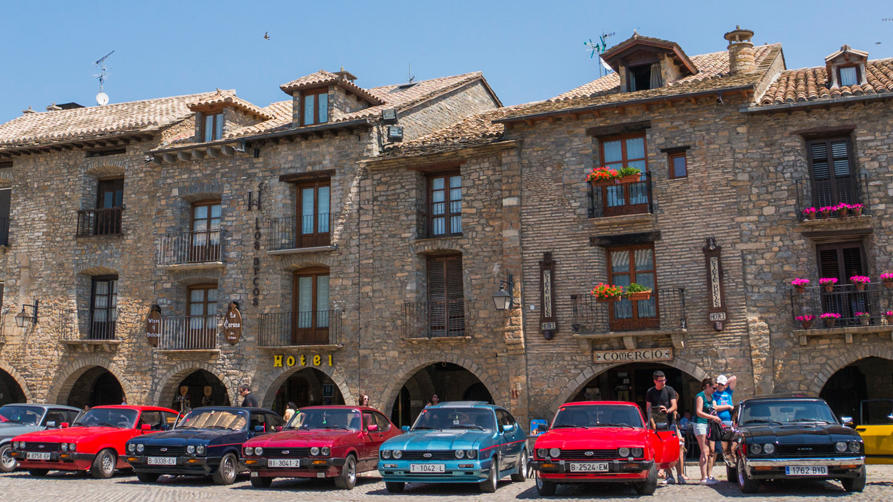 Plaza de Ainsa - Ainsa (Huesca)